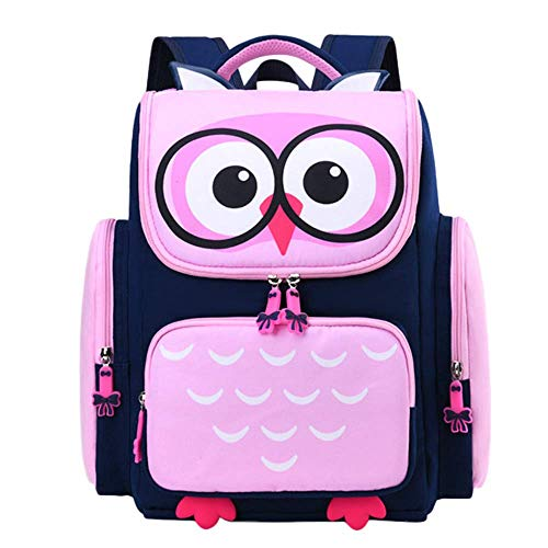 LYZJDP Backpack, Cartoon Cute School Bag 1-3-6 Grade, Widened Breathable and Wearable Backpack