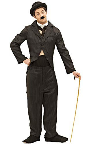 ORION COSTUMES Adult Silent Movie Star Costume, Noir , Standard