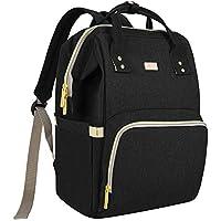 Maydolly Diaper Bag Backpack (Matte Black)