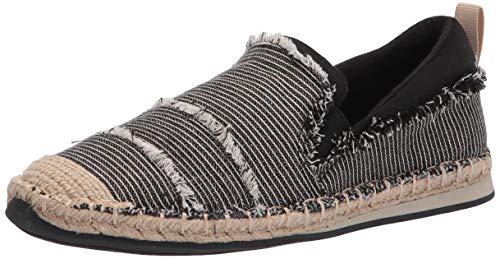 Rocket Dog Women s GIA Pickford Stripe Cotton Sneaker, Black, 9