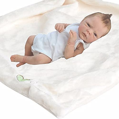HZIXIXI Bebé Realista, 18Pulgadas 46Cm Bebé Reborn Silicona Barata, Nenuco Bebe