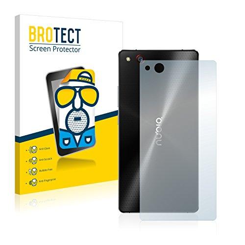 BROTECT 2X Entspiegelungs-Schutzfolie kompatibel mit ZTE Nubia Z9 Max (Rückseite) Bildschirmschutz-Folie Matt, Anti-Reflex, Anti-Fingerprint