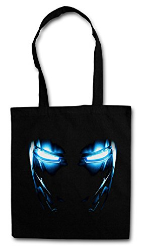 Urban Backwoods Mark II Armor Eyes Bolsas de la Compra Reutilizables - Tony Yeux Stark Iron ARC Reactor Sign III 3 Man
