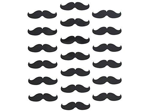 100 Piece Mustache Party Favor Sticker Decal Wall Art Macbook Pro