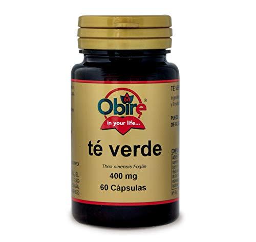 Té verde 400 mg. 60 cápsulas