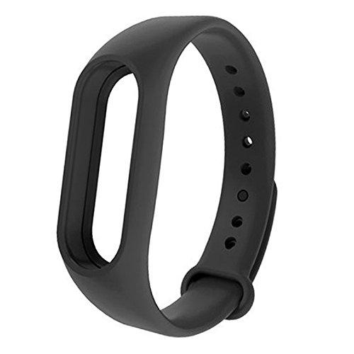 Oobest armband voor Xiaomi Mi Band 2 vervangende armband voor Mi Band 2 Blanco Y Gris