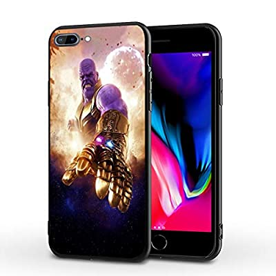 PUTEE Comics iPhone 7 Case iPhone 8 Case iPhone SE 2020 Case Full Body Protection Cover Cases (Thanos, iPhone 7/8/SE2)