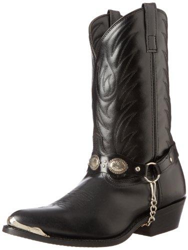 Laredo Men's Tallahassee Western Boot,Black,10 D US