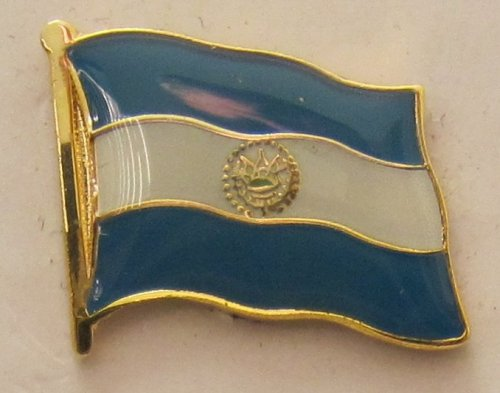El Salvador Pin Anstecker Flagge Fahne Nationalflagge Flaggenpin Badge Button Flaggen Clip Anstecknadel