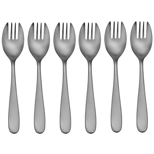 CraftKitchen Open Stock Stainless Steel Satin Classic Flatware Sets Sporks