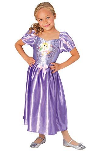Rubie's officiële Disney prinses pailletten Rapunzel klassieke kostuum, kinderen