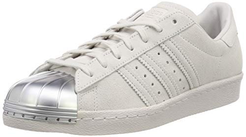 adidas Damen Superstar 80S Metal Toe W CP9945 Fitnessschuhe, Grau, 41 1/3 EU