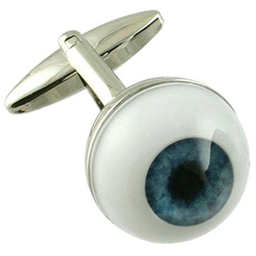 Boutons de manchettes Boutons de manchette~Opticien Optométriste Eye Ball manchette Nouveauté Pochette Cadeau Sélectionner