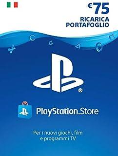 PlayStation Network PSN Card 75€ | Codice download per PSN - Account italiano