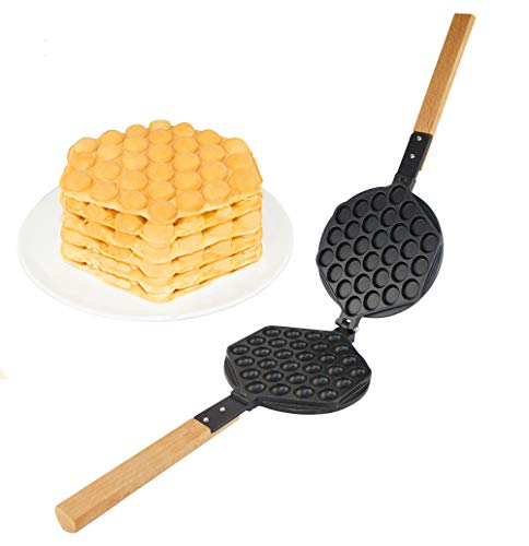 Review Of ALDKitchen Egg Waffle Maker Professional Rotated Nonstick (Grill/Oven for Cooking Puff, Ho...