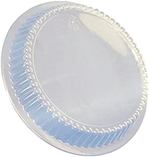 Durable Packaging Plastic Dome Lid for Round Disposable Pan, 7