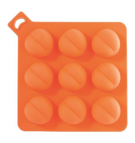Eiswürfelform Sexy Cooler Ass orange Silikon