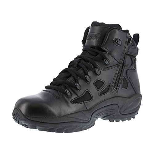 Reebok Work Men's Rapid Response RB8678 Safety Boot,Black,9.5 M US