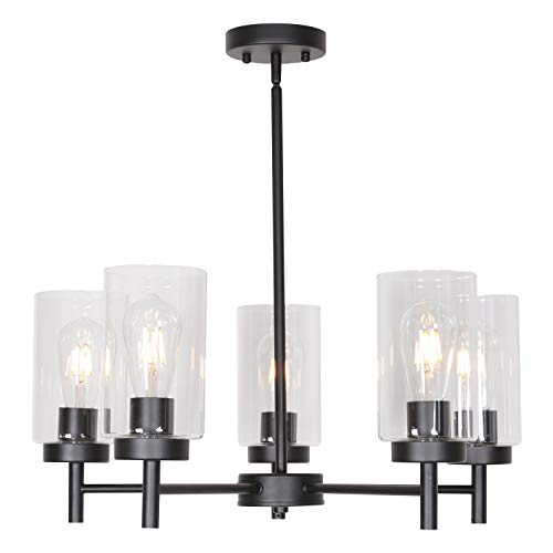 VINLUZ 5 Light Contemporary Chan...