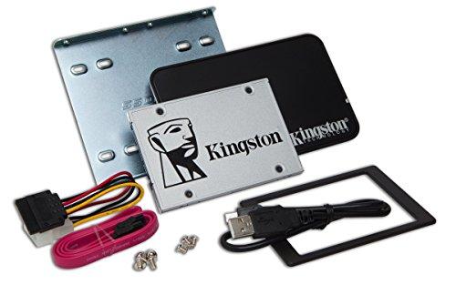 Kingston SSDNow UV400 - 240 GB Disque SSD 2.5' SATA 3 avec Kit d'Installation Desktop/Notebook