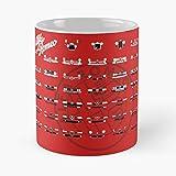 5TheWay Alfa 24Hp Milano 4C 6C Quadrifoglio Romeo 8C Tazza da caffè 11 oz miglior Regalo