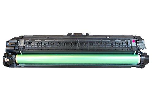 Cartucho original para HP Color LaserJet Enterprise CP 5525Series HP 650A, 650AM, 650Amagenta, no650a, no650am, no650a Magenta CE273A–PREMIUM Impresora de tóner–magenta–15.000páginas