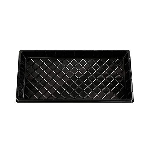 AC1 Strong Seed Starting Plant Growing Trays (Without Holes) - Durable, Reusable