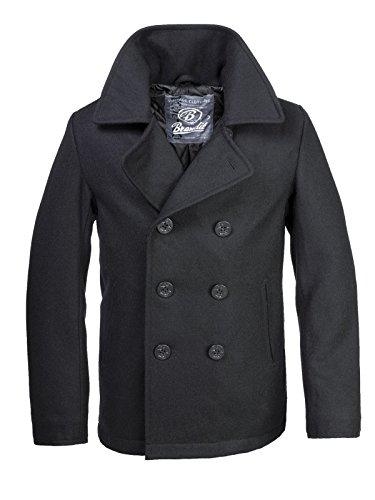 Brandit PEA Coat Schwarz L