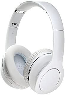 GreeGear GG-V8800N VEGGIEG Baud Foldable Stereo Wireless Bluetooth Headphones V4.0 + EDR Bluetooth Headset NFC Function Multi-points Wireless Headphones with Mic 3.5mm Cable(White)