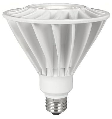 TCP LED17E26P3830KNFLUS LED Light Bulb 17-watt PAR38 Narrow Floodlight, 3000-Kelvin