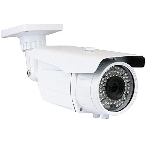 GW Security 5.0MP 1080P CCTV HD-CVI/TVI/AHD/960H 1200TVL 4-in-1 Camera 6-22mm Lens IR-Cut 72 IR LEDs Night Vision Outdoor Indoor Bullet Security Camera