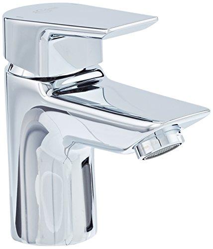 Ideal Standard A6568AA TESI Waschtischarmatur Piccolo ohne Ablaufgarnitur, Silber