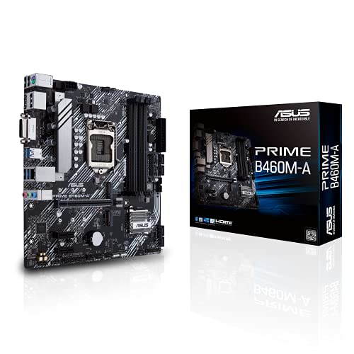 ASUS Prime B460M-A LGA 1200 Micro ATX Motherboard