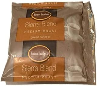 Farmer Brothers Coffee - Ground Medium Roast 100% Arabica 2.5 Oz Portion Packs (Bulk 128 Pack - $1.25 cost per pack)