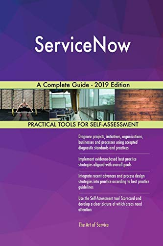 Top servicenow book for 2020