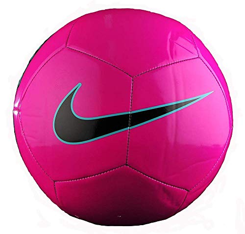 Nike Pitch Training Soccer Ball Fusion Pink/Green/Black Size...
