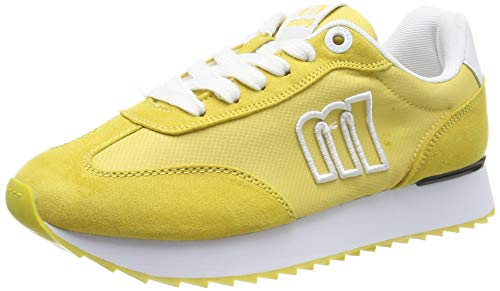MTNG Attitude 69487, Zapatillas para Mujer, Amarillo (Rayo Mostaza C44990), 38 EU