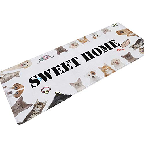 Adelina tapijt, woonkamer, salontafel, voetmat, strook, gang, begroetingsmat, waterslip, modieus, completi, verdikt, otto cartoon