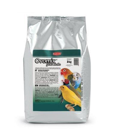 Padovan ovomix Gold Giallo pastoncino patè Morbido per canarini Uccelli granivori 3 kg