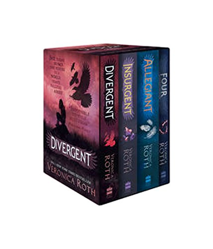Divergent Series Boxed Set (Books 1-4): Divergent / Insurgent / Allegiant and Four