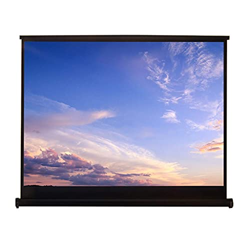 """FMOGE Projector Screen,Support 3D Playback,16:10 Portable Screen,Home Theater,Outdoor Cinema and Other Entertainment Activities Perfect Choice (50"""")"""