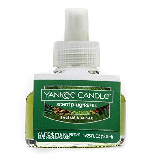 1240810Bálsamo y cedro Yankee Candle eléctrico recambio hogar fragancia unidad