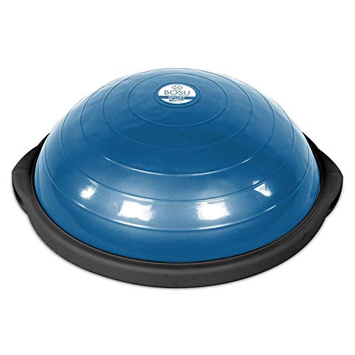 BOSU Sport Balance Trainer, Travel Size Allows for Easy Transportation and Storage, 50cm, Blue/Black