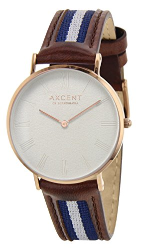 Axcent of Scandinavia Orologio con Movimento al Quarzo Giapponese Unisex IX5720R-09 36 mm