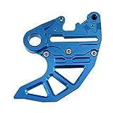 Gzcfesbn Protección de la Cubierta del Protector del Freno del Rotor del Disco Trasero de Las Motocicletas para Husqvarna Te FX FX TX 125 250 350 450 501 300 200 2018-2020 Durable (Color : Blue)