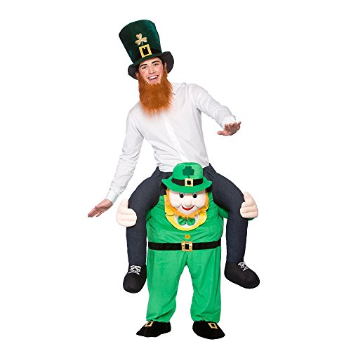 Carry Me Leprechaun - Adult Costume Adult - One Size