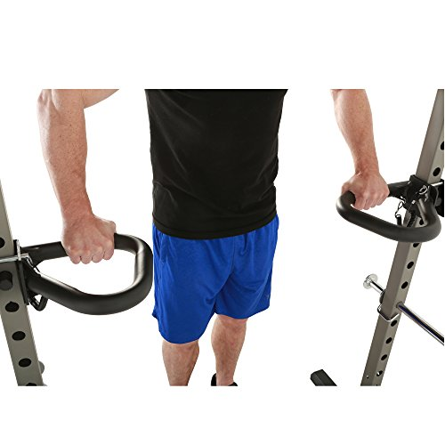 Fitness Reality Multi Grip Set of 2, Dip Bar Attachments for 2