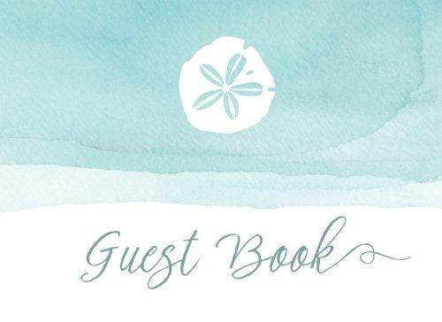 Guest Book: Beach Wedding Guest Book (Guestbook for Beach Weddings, Wedding Guest Book Beach Theme) 150 Lined Pages - Beach Guest Book - Beach House Guest Book