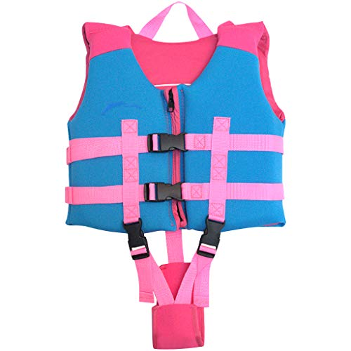hony Kids Flotation Life Jacket Swimsuit Buoyancy Swimwear Beach Suit Swim Vest