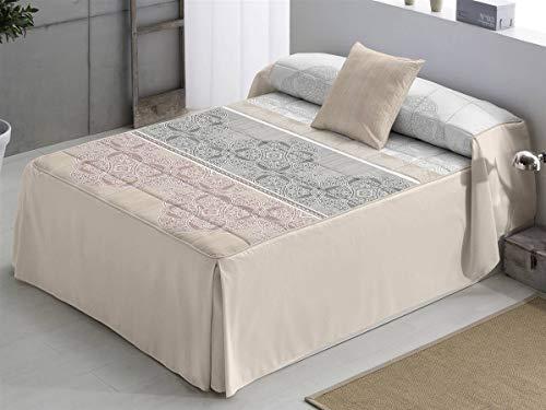 Camatex - Edredón NAIMA cama 135 - Color Beig